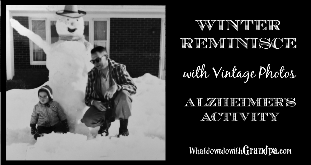 Winter Reminisce, Alzheimer's Activity