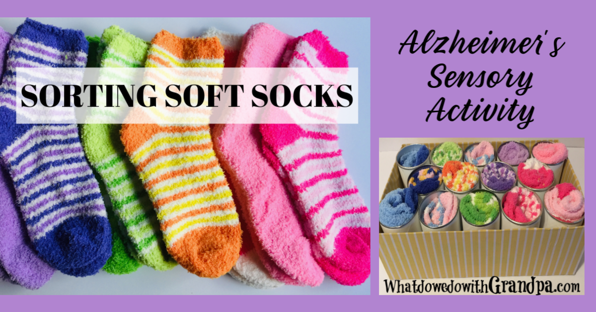 Sorting Socks: Sensory Alzheimer's Activity